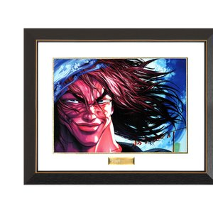 Baki the Grappler Chara Fine Graph Print Series - Yujiro Hanma