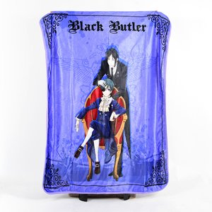 Home & Kitchen / Blankets / Black Butler Sebastian & Ciel Throw Blanket