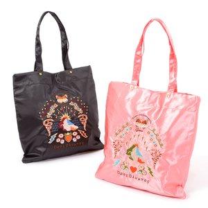 J-Fashion / Bags & Purses / FLAPPER Sukajan Embroidered Flat Tote