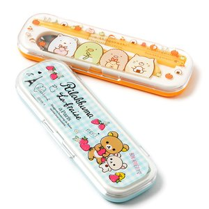 Home & Kitchen / Chopsticks & Cutlery / Rilakkuma & Sumikko Gurashi Combined Utensil Sets