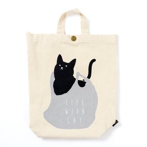 Home & Kitchen / Home Decor / Life With Cat Plastic Bag Stocker