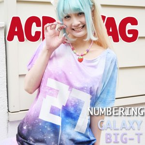 ACDC RAG 27 Space Pattern T-Shirt