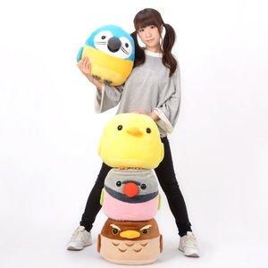 Plushies / Big Plushies / Kotori Tai Nigiyaka Bird Plush Collection (Big)