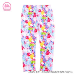 6%DOKIDOKI Colorful Rebellion Pastel Boyfriend Leggings