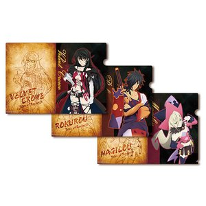 Stationery / Other Stationery / Tales of Berseria Deluxe Clear File Folders Set of 3