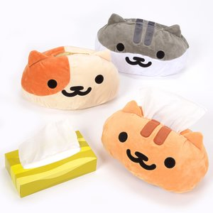 Home & Kitchen / Home Goods / Neko Atsume Face-type Tissue Case Cover Ver.2