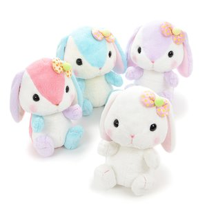 Pote Usa Loppy Colorful Rabbit Plush Collection (Big)