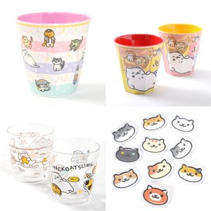 Toys & Knick-Knacks / Collectable Toys / Home & Kitchen / Mugs & Glasses / Neko Atsume Tableware Set