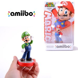 Gaming / Game Accessories / Super Mario Luigi amiibo w/ Free Mario amiibo