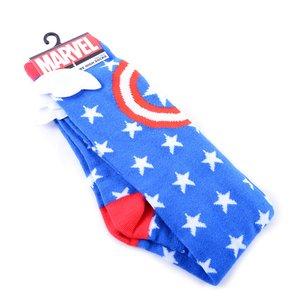 Marvel Captain America Star Knee-High Socks w/ Wings