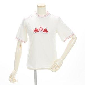 milklim Strawberry Embroidered T-Shirt