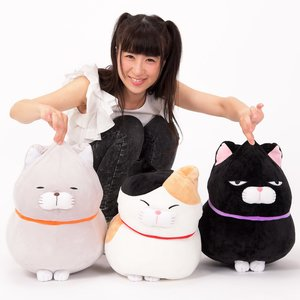 Hige Manjyu Mochikko Cat Plush Collection (Big)