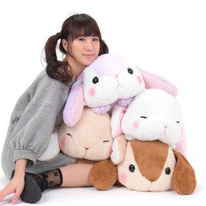 Pote Usa Loppy Gorone Hiyori Rabbit Plush Collection (Big)