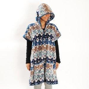 FEEL Micro Flannel Hooded Blanket