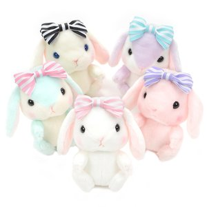 Pote Usa Loppy Dolly Rabbit Plush Collection (Standard)