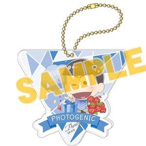 Osomatsu-san Photogenic Party Karamatsu Big Acrylic Ball Chain Charm