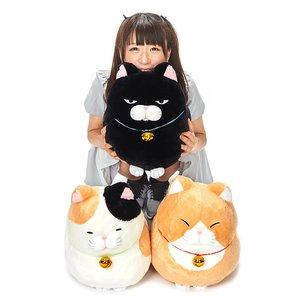 Hige Manjyu Bell Cat Plush Collection (Big)