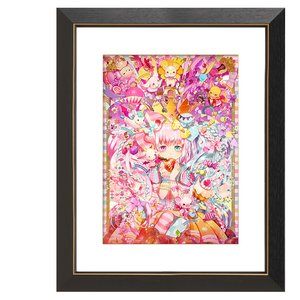 "Yuu ""Princess of Desire and the Seven Deadly Sins"" Chara Fine Graph Print"