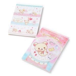Stationery / Notebooks & Memo Pads / Rilakkuma Sweet Dream of Korilakkuma Memo Pads