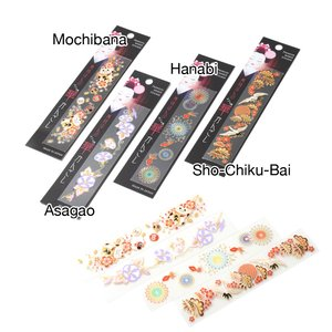 Maiko-han no Kanzashi Decoration Stickers