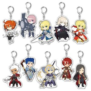 Pikuriru! Fate/Grand Order Trading Acrylic Keychain Charms Box Set