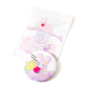 milklim x magical Cherry-Loving Bunny Pin Badge