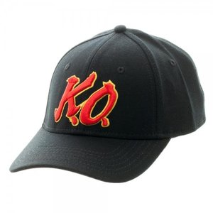 Street Fighter V K.O. Black Flex Cap