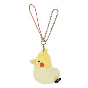 Toys & Knick-Knacks / Collectable Toys / Plushies / Plushie Sets / Irotoridori Cockatiel Keychain Strap