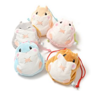 Plushies / Plushie Accessories / Coroham Coron Hamster Pouches
