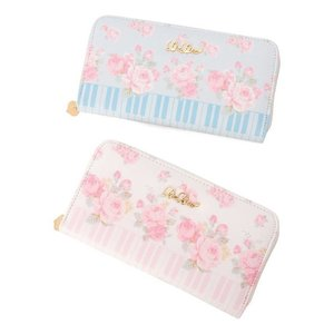 LIZ LISA Piano Rose Long Wallet