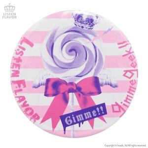 LISTEN FLAVOR x Gimme Geek! Collaboration Vol. 2 Angel Candy Tin Badge