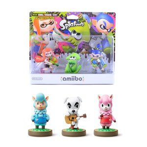 Gaming / Game Accessories / Animal Crossing amiibo 3-Pack w/ Free Splatoon amiibo 3-Pack