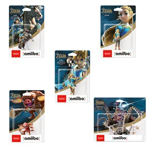 Gaming / Game Accessories / Legend of Zelda: Breath of the Wild amiibo Complete Set