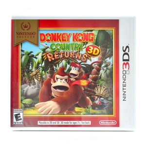 Gaming / Video Games / Donkey Kong Country Returns 3D (3DS)