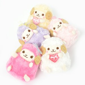 Plushies / Medium Plushies / Heartful Girly Wooly Sheep Plush Collection (Standard)