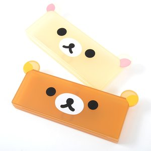 Stationery / Pencil Cases / Home & Kitchen / Pouches & Other Cases / Rilakkuma Face Pen Cases