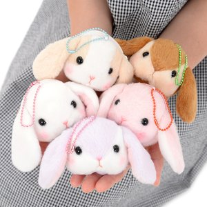 Pote Usa Loppy Chibi Face Pouches