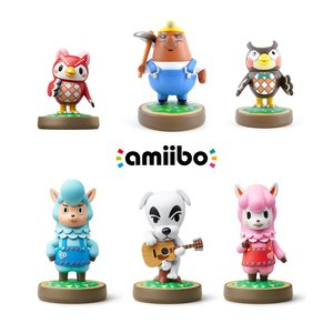 Gaming / Game Accessories / Animal Crossing amiibo 3-Pack w/ 3 Free Animal Crossing amiibo (Option A)