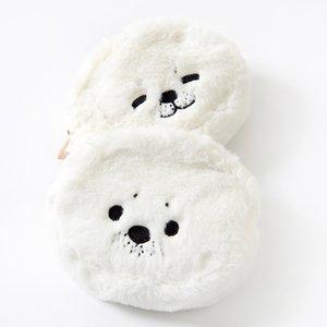 J-Fashion / Wallets & Pouches / FLAPPER Shiratama-chan Face Pouches