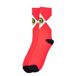 Power Rangers Red Crew Socks
