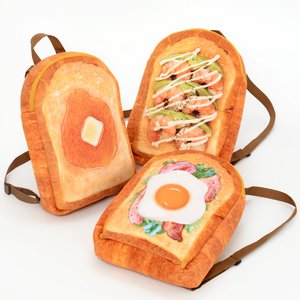 Otaku Apparel & Cosplay / Bags & Wallets / Marude Pan Like a Bread Backpacks Vol. 3