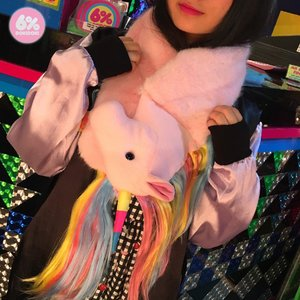 6%DOKIDOKI New Generation Unicorn Scarf