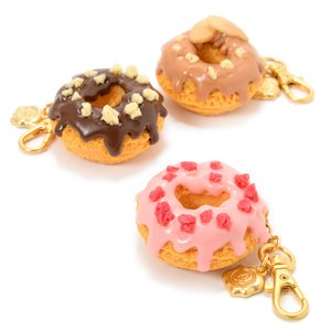 J-Fashion / Jewelry & Hair Accessories / Other Accessories / Marché du Q-pot. Melty Chocolate Doughnuts Bag Charms