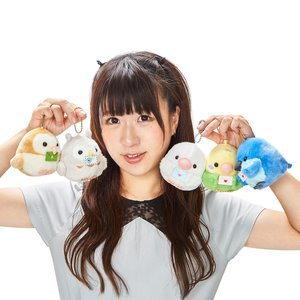 Kotori Tai Letter Bird Plush Collection (Ball Chain)
