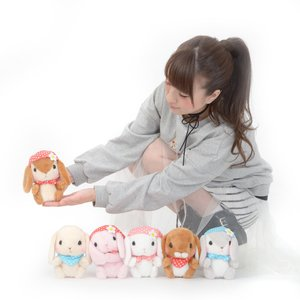Plushies / Small Plushies / Pote Usa Loppy Zukin Rabbit Plush Collection (Standard)