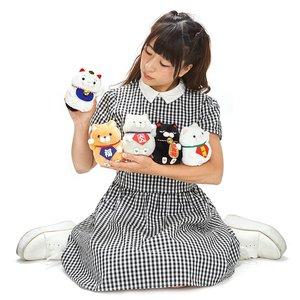 Hige Manjyu Manekineko Cat Plush Collection (Standard)