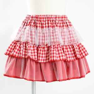 milklim Muchu Checkered Skirt