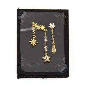 Miyuki's Eyelashes Stardrop Bindi Gold Face Jewels