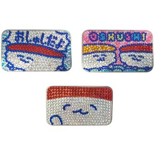 Home & Kitchen / Pouches & Other Cases / Oshushidayo! Sparkly Tin Cases