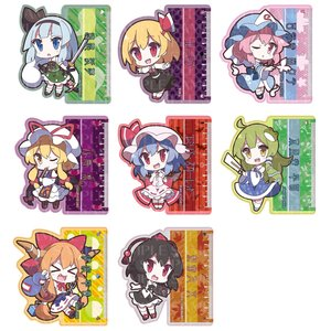Touhou Project Ruler Strap Collection
